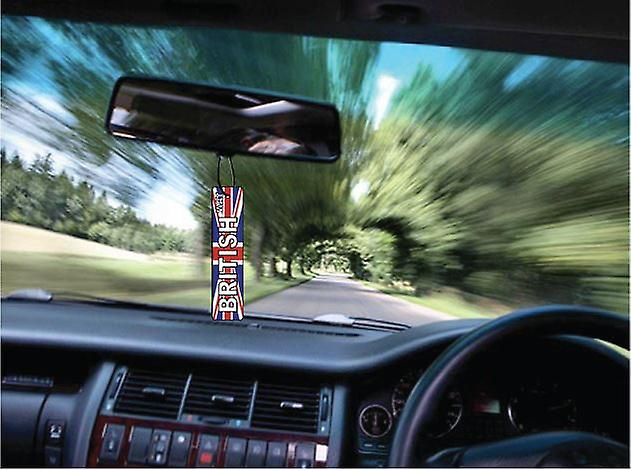 British Way Street Sign Car Air Freshener