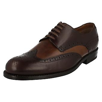 Mens Clarks Smart Brogues Blackcheck Win