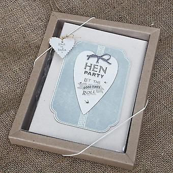 East Of India Hen Party Heart Photo Album / Present / Keepsake