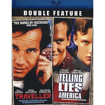 Viajero/decir mentiras en la importación de Estados Unidos de América [BLU-RAY]