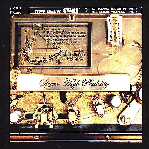 Spyra - High Phildelity [CD] USA import