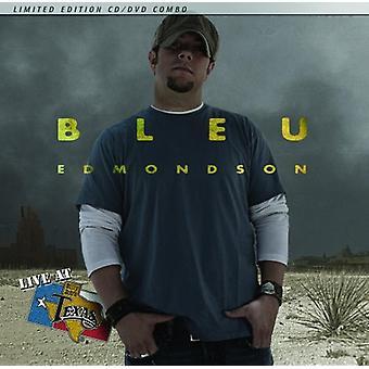 Bleu Edmondson - Live på Billy Bob's Texas [CD] USA import