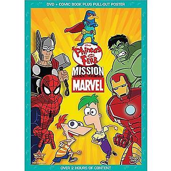 Phineas Ferb &: Missione Marvel [DVD] Stati Uniti importare