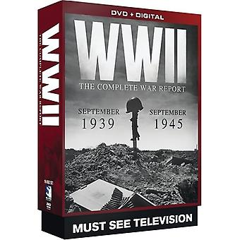 WWII: Complete War Report [DVD] USA import