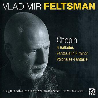 F. Chopin - Chopin: 4 Ballades; Fantaisie en fa mineur; Importer des USA de la polonaise-fantaisie [CD]