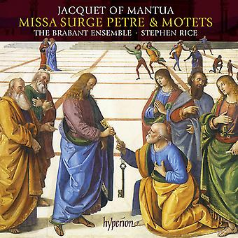 Jacquet of Mantua - Missa Surge Petre Motets [CD] USA import