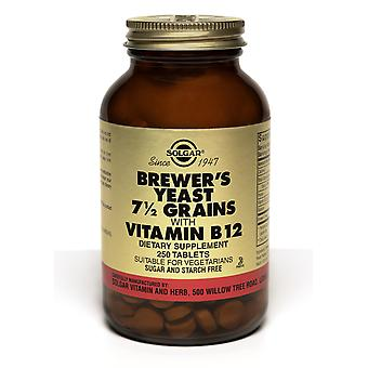 Solgar Brewer Hefe 7 1/2 Körner Tabletten Vitamin B12 250ct