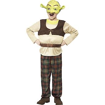 Shrek drakt barn OGRE opprinnelige Shrekkostüm