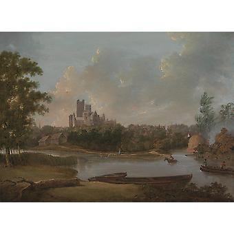 Unknown - Ely Cathedral Poster Print Giclee