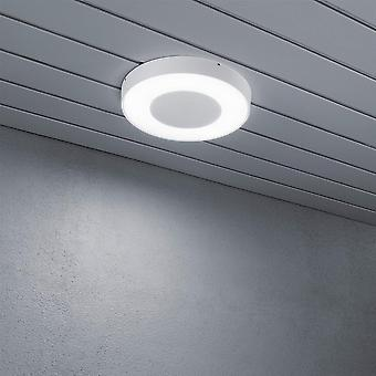 Konstsmide Cesena High Power LED wit schijf Flush veranda licht plafond
