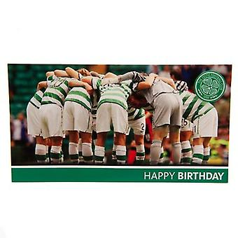 Celtic Birthday Card Huddle