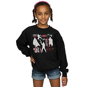 Star Wars Girls The Last Jedi First Order Silhouettes Sweatshirt