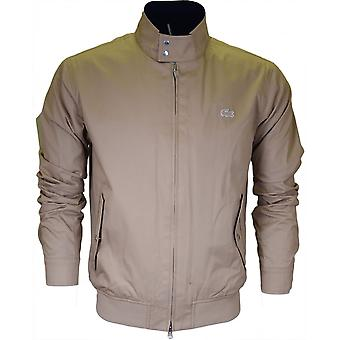 Lacoste Bh6255 Beige Harrington jas
