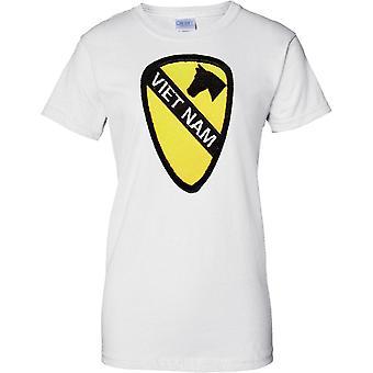 Vietnam-Patch-Effekt - US Armee 1. Kavallerie - Damen-T-Shirt