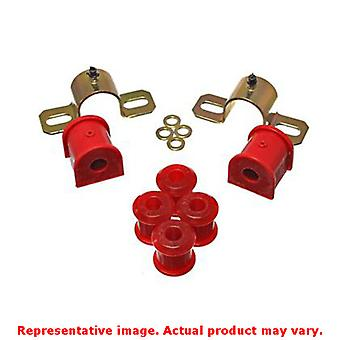 Energy Suspension 2.5111R Red Rear Energy Suspension Sway Bar Bushing Set Fits:
