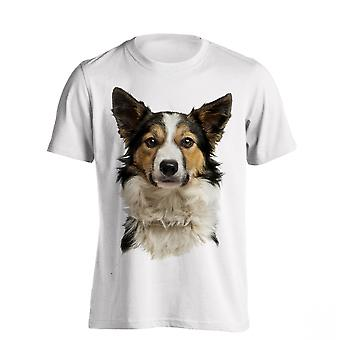 The T-Shirt Factory Mens Border Collie Dog T-Shirt