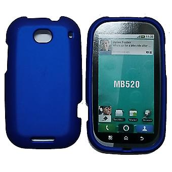 Offwire Soft Touch Snap-On Case for Motorola MB520 Bravo - Blue