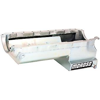 Moroso 21047 Eliminator Style Oil Pan with Partitioned Tray for Chevy Big-Block Engines