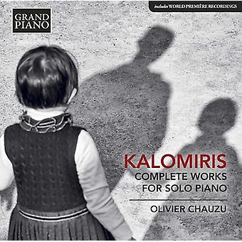 Kalomiris / Chauzu - Kalomiris / Chauzu: samlede værker for Solo klaver [CD] USA import