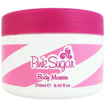 Pink Sugar Women by Aquolina 8.45 oz Body Mousse