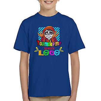 You Make Me Un Poco Loco Kid's T-Shirt