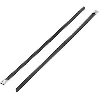 Cable tie 201 mm Black Coated KSS BSTC-201L