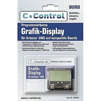 C-Control Display Programmierbares Grafik-Display Compatible with: Arduino UNO