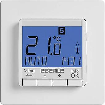 Indoor thermostat Flush mount 7 day mode 5 up to 30 °C Eberle
