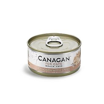 Canagan 75g Chicken with Crab Cat Wet Food Can - 75g Can