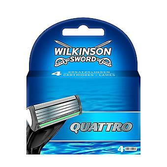 ウィルキンソン剣クワトロかみそりの刃