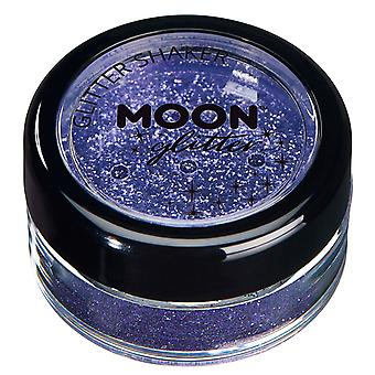 Fine Glitter Shakers by Moon Glitter – 100% Cosmetic Glitter for Face, Body, Nails, Hair and Lips - 5g - Lavander