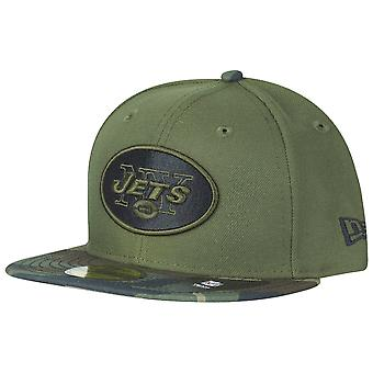 New Era 59Fifty Cap - New York Jets wood camo