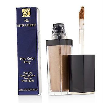 Estee Lauder Pure Color Envy Paint On Liquid LipColor - # 108 Gold Dipped (Metallic) - 7ml/0.23oz