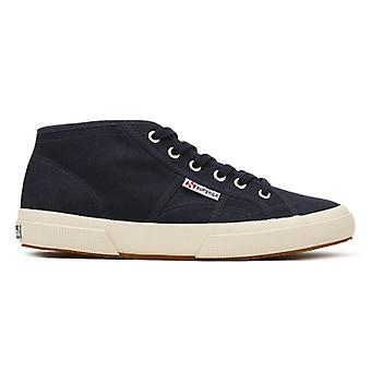 Superga Navy 2754 Cotu Trainers