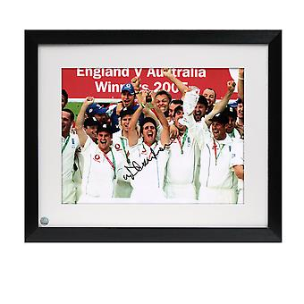 Michael Vaughan Signed And Framed Cricket Photo: Ashes Winners 2005