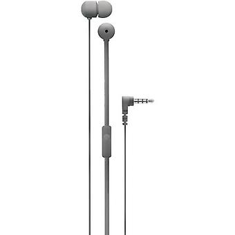 Degauss Labs SPKRS universal in-ear headphones headset 3.5 mm grey