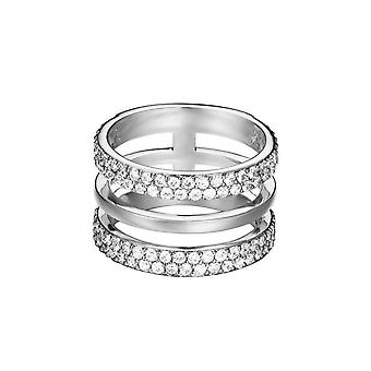 ESPRIT women's ring stainless steel Silver JW52896 cubic zirconia ESRG02784A