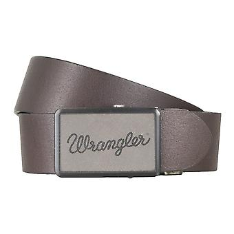WRANGLER belt leather belts men's belts Brown 4776