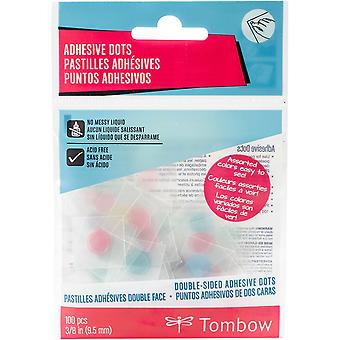 Double-Sided Adhesive Dots-Clear Pastel .375