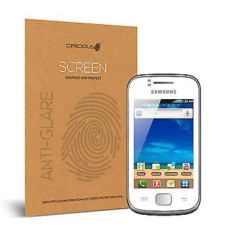 Celicious Matte Anti-Glare Screen Protector Film Compatible with Samsung Galaxy Gio [Pack of 2]