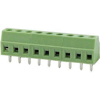 Degson DG381-3.5-02P-14-00AH Screw terminal 1.31 mm² Number of pins 2 Green 1 pc(s)