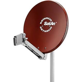 Kathrein CAS 80 SAT antenna 75 cm Reflective material: Aluminium Red brown