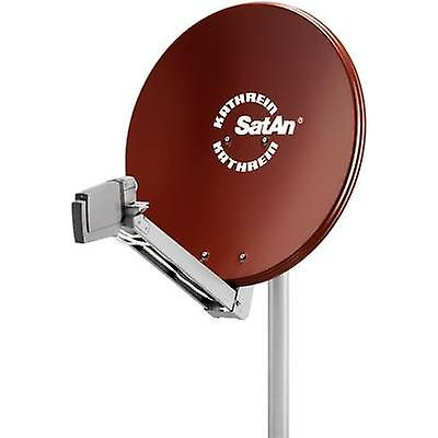 Kathrein CAS 80 SAT antenna 75 cm Reflective material  Aluminium rouge marron