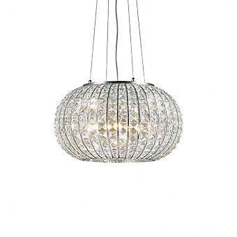 Ideal Lux Calypso 3 glödlampa 32cm kristall världen hänge