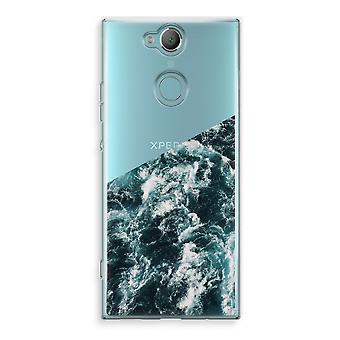 Sony Xperia XA2 Transparent Case (Soft) - Ocean Wave