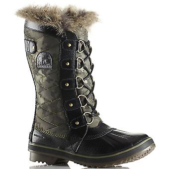Botas de mujer Sorel Tofino II invierno impermeable lona becerro mediado de caminar