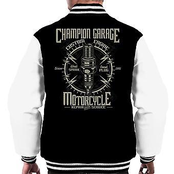 Campione Varsity Jacket di Garage moto uomo