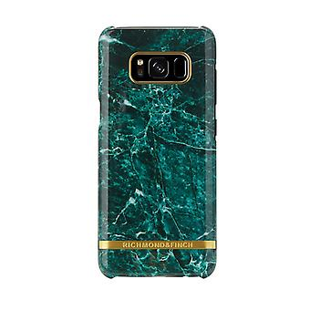 Richmond & Finch covers for Samsung Galaxy S8 Plus-Green Marble