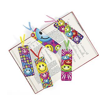 48 Smiley Face Card Bookmark Party Bag Fillers for Kids