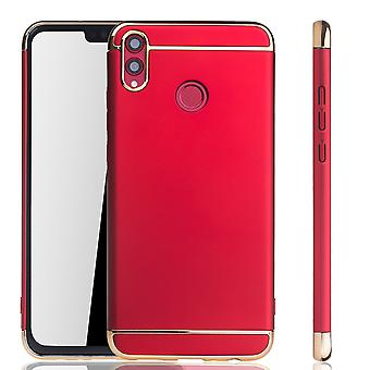 Huawei honor 8 X celtelefoon cover case bumper Hard Cover rood